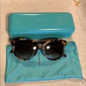 Tiffany and Co. tortoise sunglasses